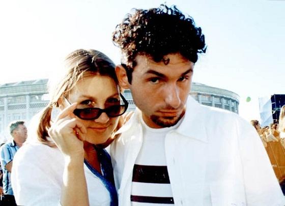 Ева Польна и Юрий Усачев