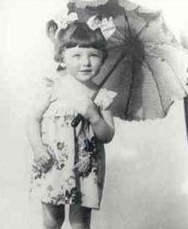 Ирина Понаровская в детстве