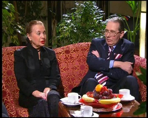 Светлана Безродная с мужем