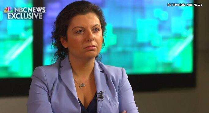 Симоньян в интервью NBC