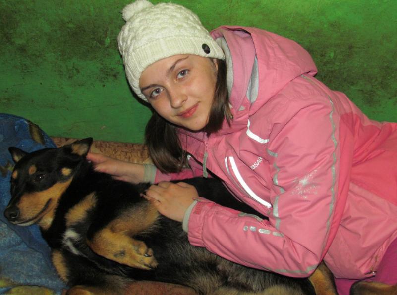 Анастасия Бугаенко в юности