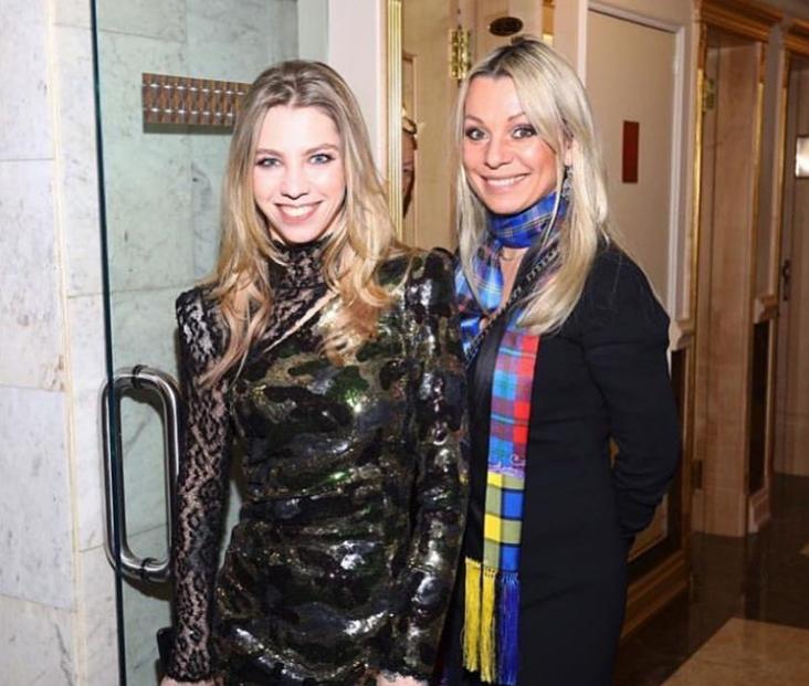 Алиса Викторовна Салтыкова с мамой