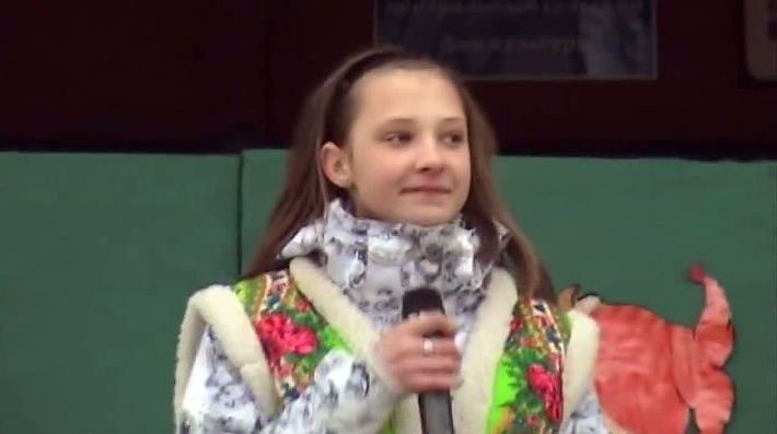 катя денисова на конкурсе талантов