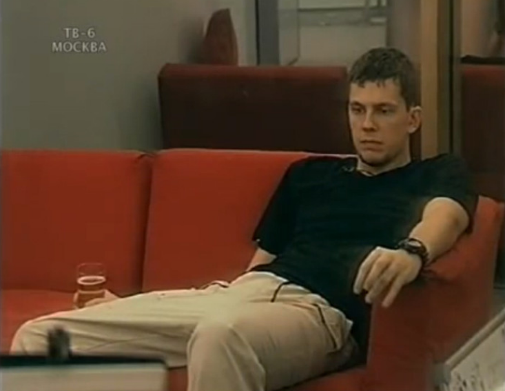 Александр Колтовой в ТВ-шоу За стеклом