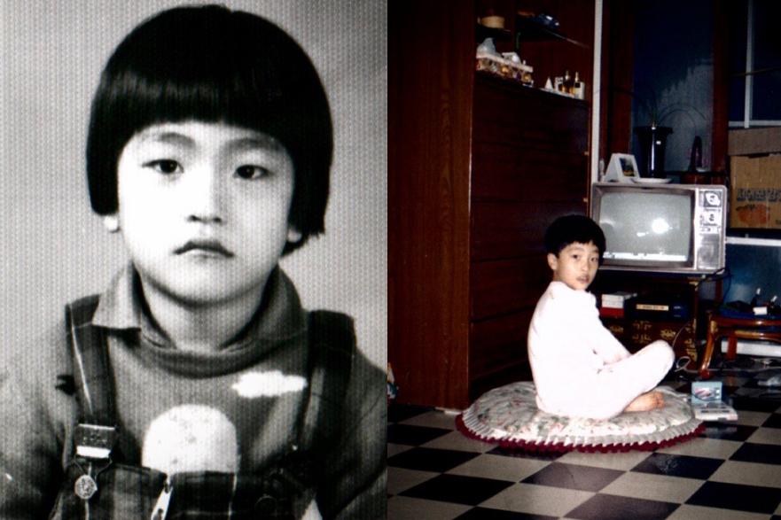 Сон Хун в детстве