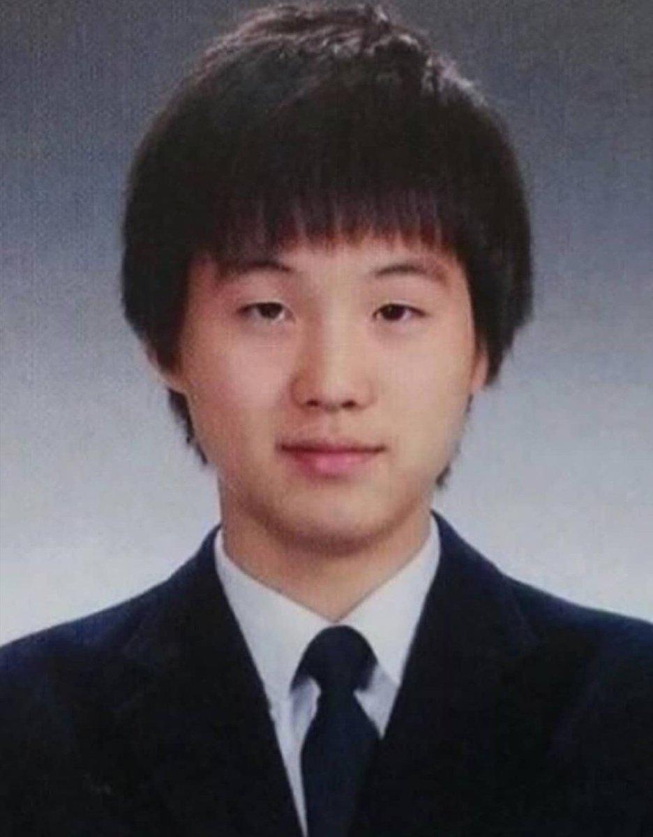Мин Юнги в школьные годы