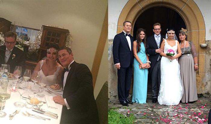 Радий Хабиров на свадьбе дочери