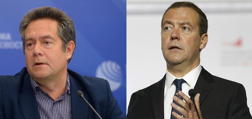 Дмитрий Медведев и Николай Платошкин