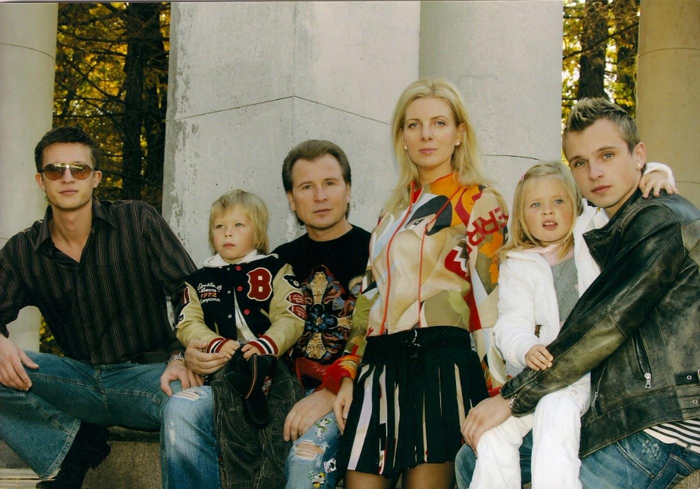 семья александра малинина