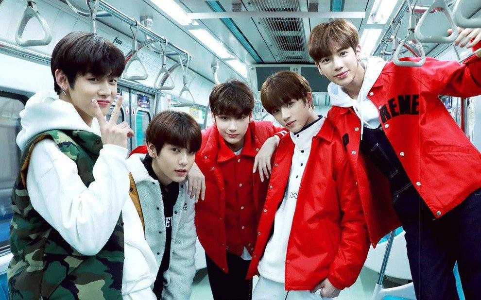 новая корейская группа тхт