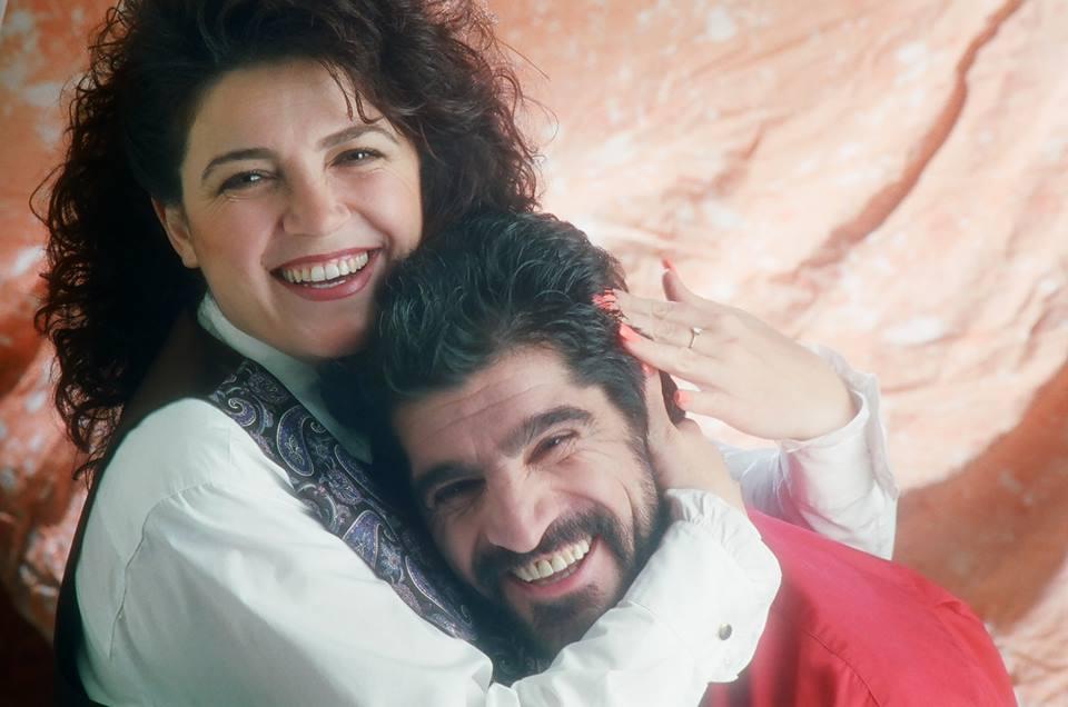 Арут Памбукчян со своей женой